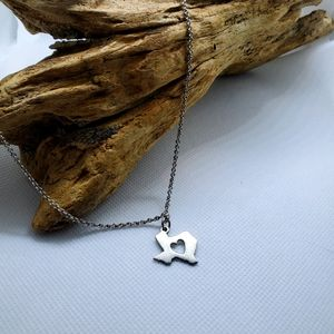 James Avery Texas Charm on Cable Chain